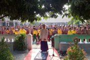 Ratusan Murid SDN Purwasari II Solat Dhuha Berjamaah Untuk Membentuk Karakter