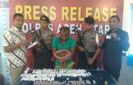 Anggota Polres Aceh Utara Tembak Residivis Sabu