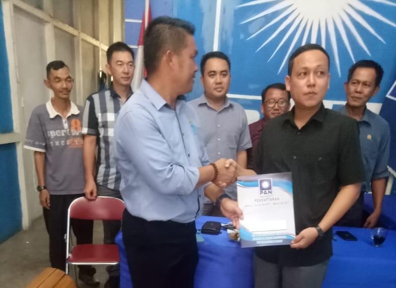 Ketua DPC Gerindra Sekadau Daftar Pada Partai Sekaligus