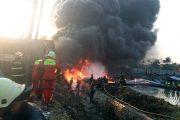 Kebakaran di Area Proyek Kereta Cepat Satu Orang Meninggal