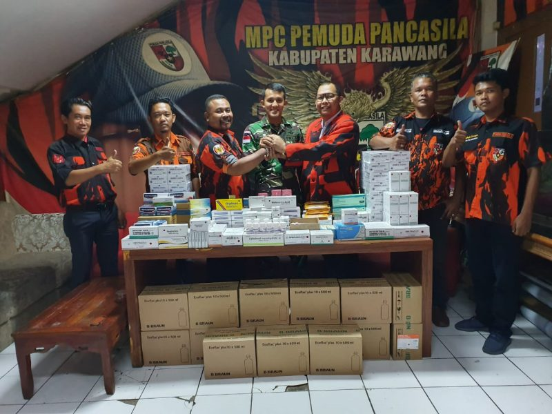 BP3 Bekali Obat-obatan untuk 450 Prajurit Yonif 305 Diberangkatkan ke Papua