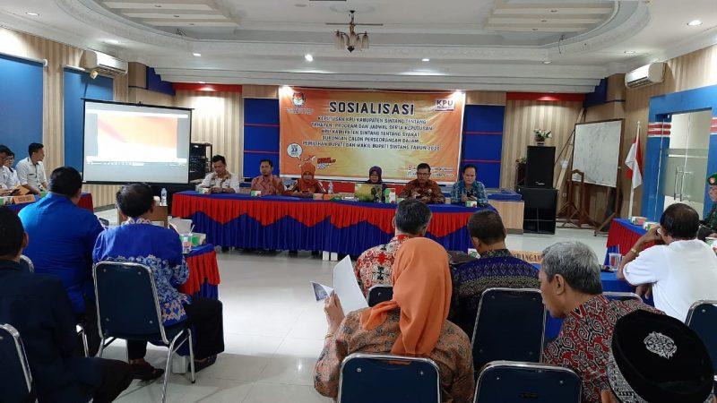 Syarat Calon Perseorangan di Sintang Harus Didukung 25.108 di 8 Kecamatan