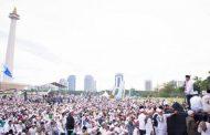 Ribuan Masyarakat Padati Jakarta Mengikuti Reuni Akbar 212