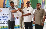 Pemkab Aceh Utara Serahkan Bantuan Pemulihan Ekonomi Pasca Bencana