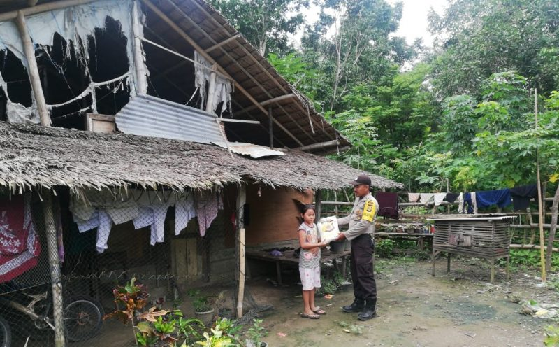 Polres Aceh Utara Sebar Bantuan Beras untuk Kaum Dhuafa di 15 Kecamatan