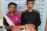 Dua Pengedar Sabu Ditangkap Polres Aceh Utara di Lokasi Berbeda