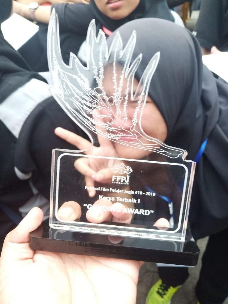 Film Karya Siswa SMK Bina Karya Mandiri 2 Bekasi Berjaya di Yogjakarta