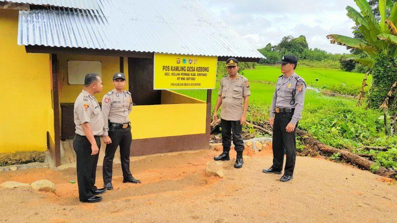 Poskamling Desa Kebong Juara Dua Kategori Poskamling Desa Mandiri