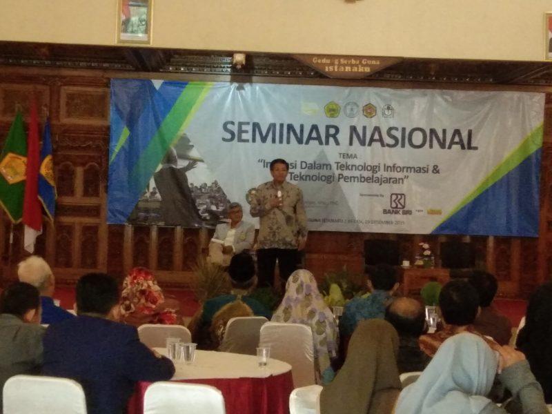 Tingkatkan Kualitas SDM, STMIK Bani Saleh Bekasi Helat Seminar Nasional