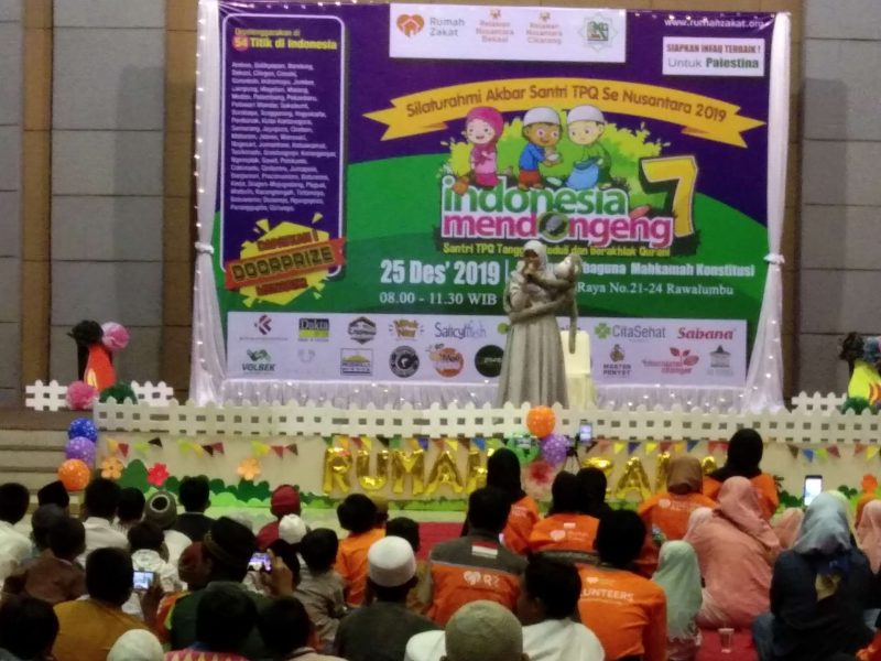 Bentuk Karakter, Rumah Zakat Helat Indonesia Mendongeng