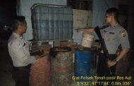 Polisi Grebek Gudang BBM Oplosan di Kecamatan Lapang