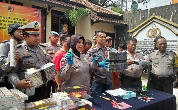 Polsek Padalarang Ungkap Kasus Pembobolan Minimarket