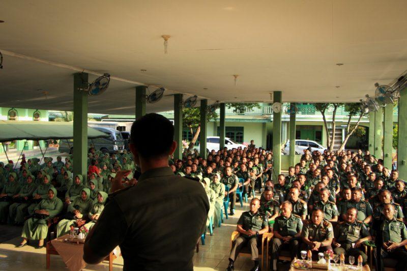 Personel Kodim 0104 Aceh Timur Ikuti Penyuluhan Hukum