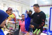 Sambil Bersepeda Wakil Walikota Bekasi Sosialisasikan Zero Plastik