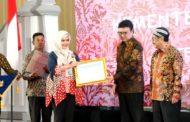 Lembaga ANRI Berikan Penghargaan Sangat Memuaskan ke Kemnaker