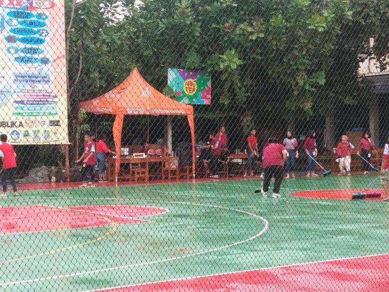 Usai Diguyur Hujan Lebat, SMA KOPRI Bekasi Diserbu Unit URC