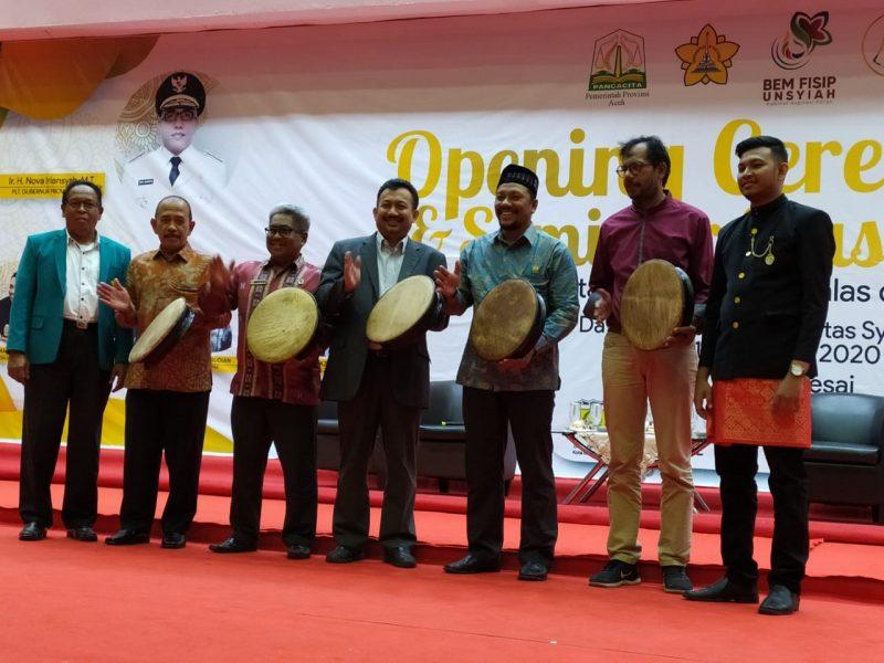 Pemerintah Aceh Fasilitasi Konferensi BEM Fisip se-Sumatera