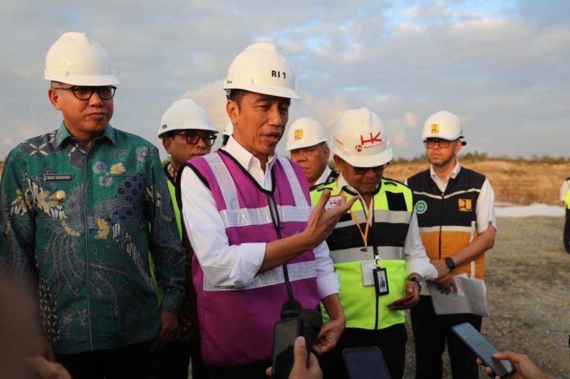 Tinjau Simpang Susun Blang Bintang, Presiden: Alhamdulillah, Pembebasan Lahan Berjalan Baik
