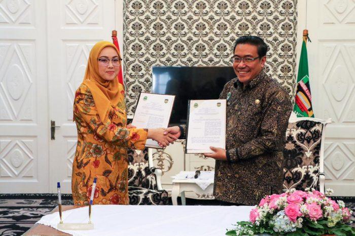 Pemkab Purwakarta MoU dengan Bapenda Jawa Barat untuk Insentifikasi Pajak Kendaraan Bermotor