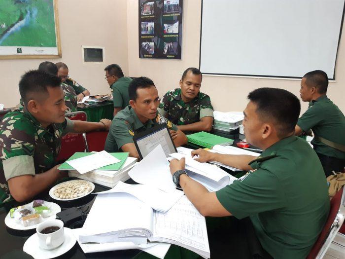 Itdam Iskandar Muda Audit Kodim 0103 Aceh Utara