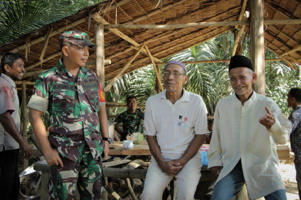 Warga Dusun Leupon Rasakan Sentuhan Program TMMD ke-107