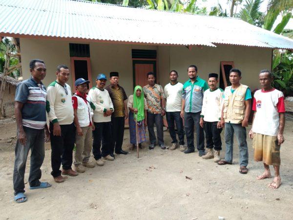 IPSM Aceh Utara Resmikan Bedah Rumah Tidak Layak Huni ke-32