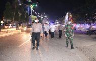 Patroli Gabungan Penanganan Covid-19 Tahun 2020 di Aceh Utara