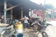 Serentak, Disinfeksi Areal Publik di Kecamatan Purwakarta Kota