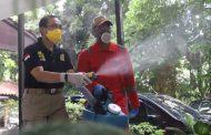 Korban PHK Dilibatkan dalam Penyemprotan Disinfektan Covid-19 di Pulogadung