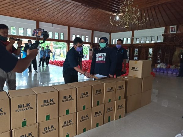 BLK Surakarta Bantu Penanganan Covid-19 di Sragen