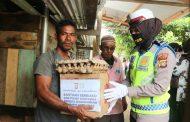 Polres Aceh Utara Salurkan 300 Paket Sembako ke Warga Kurang Mampu