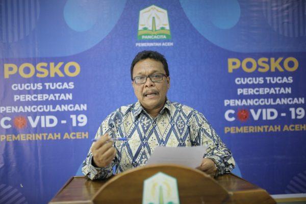 Pemprov Aceh Evaluasi Kebijakan Terkait Penanganan Covid-19