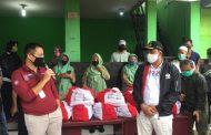 Distribusi Bantuan Presiden di Kota Bekasi Dipantau Menteri Sosial dan Wakil Walikota