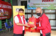 Indosat Salurkan Bantuan Sembako kepada Warga Terdampak Covid-19