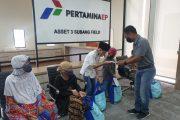 10 Hari Terakhir Ramadan, Aset 3 Santuni Warga Sekitar Wilayah Operasi