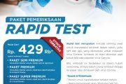 Mandaya Hospital Sediakan Diskon dan Harga Paket Rapid Test