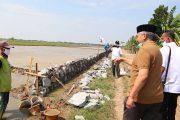 Syaikhu Tinjau PISEW yang Hubungkan Jalan Dua Desa di Karawang