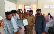 Akreditasi Kemensos RI kepada 54 LKS Diserahkan Wakil Bupati Aceh Utara