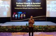BPJS Kesehatan Kedeputian Wilayah Jawa Barat Apresiasi Mitra Kerja